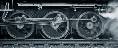 train, train wheels, black and white, steam engine, large wheels, vintage train, circles, engines,steam punk,