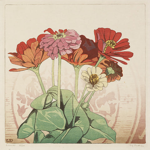 Large floral, vintage flower, Zinnias, famous painting, flower mural, flower wallpaper,