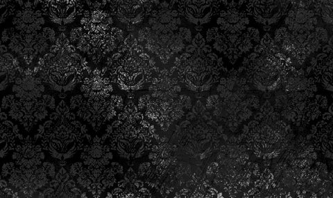 +charcoal, damask, large scale damask, charcoal damask, pattern, damask pattern, black damask, grey damask,