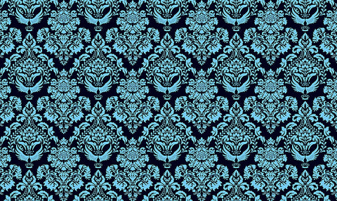 blue damask, damask, large scale damask,large scale design, large scale wallpaper, large scale damask,