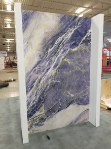 Blue Marble mural at the GTA Home Show 2018