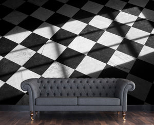 Black and white floor / Novelty