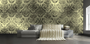 Damask in Mist /  TEB interiors