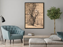 Daniel Fowler Tree in a canvas wrap. Art on the wall, Tree,