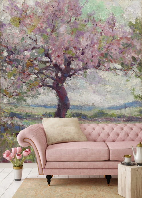 The Pink Tree by George Agnew Reid. 1900. /AGO