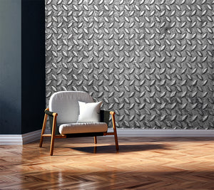 iron texture, iron texture mural, iron texture wallpaper, diamond texture wallpaper, metal texture, metal diamond mural,