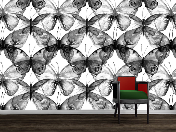 Flutterby - Black on White / TEB interiors