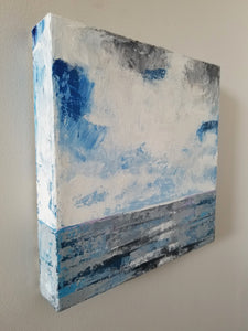 Lake Erie painting, small paintings to by online by Ruth Baker