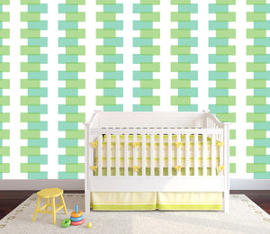 baby's room, baby wallpaper, new baby wallpaper, modern baby's room, modern baby's wallpaper,