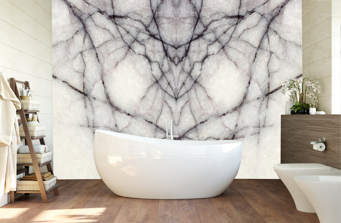 White marble with black veins / pattern