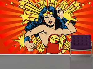 Super Wonder Woman / TEB interiors