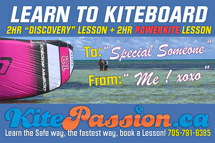 Gift Card 2hr Discovery Lesson + 2hr Powerkite Lesson