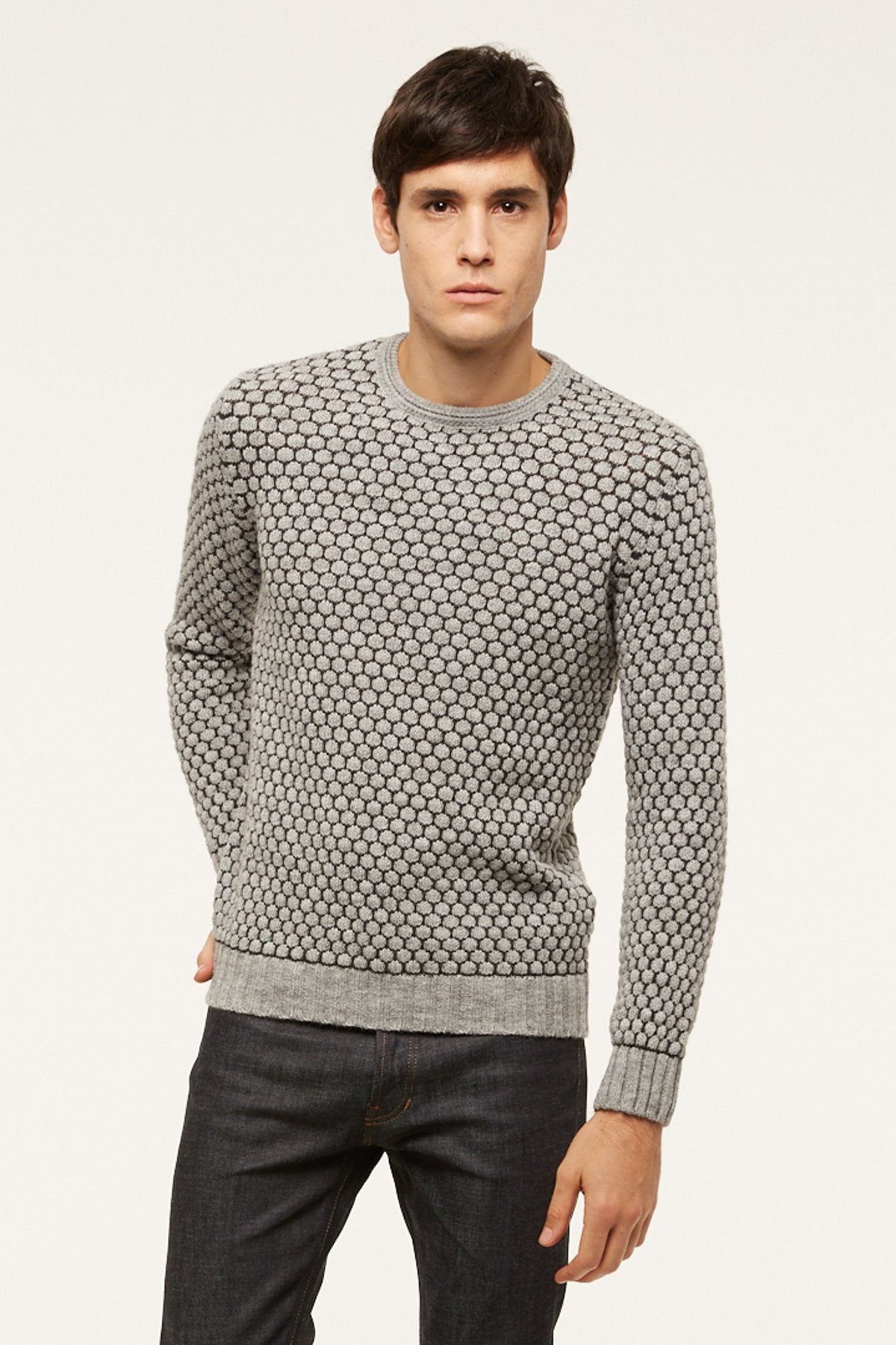 Pull Mabeille - Gris anthracite