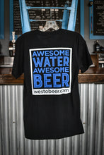 """Awesome Water, Awesome Beer"" Short Sleeve T-Shirt"