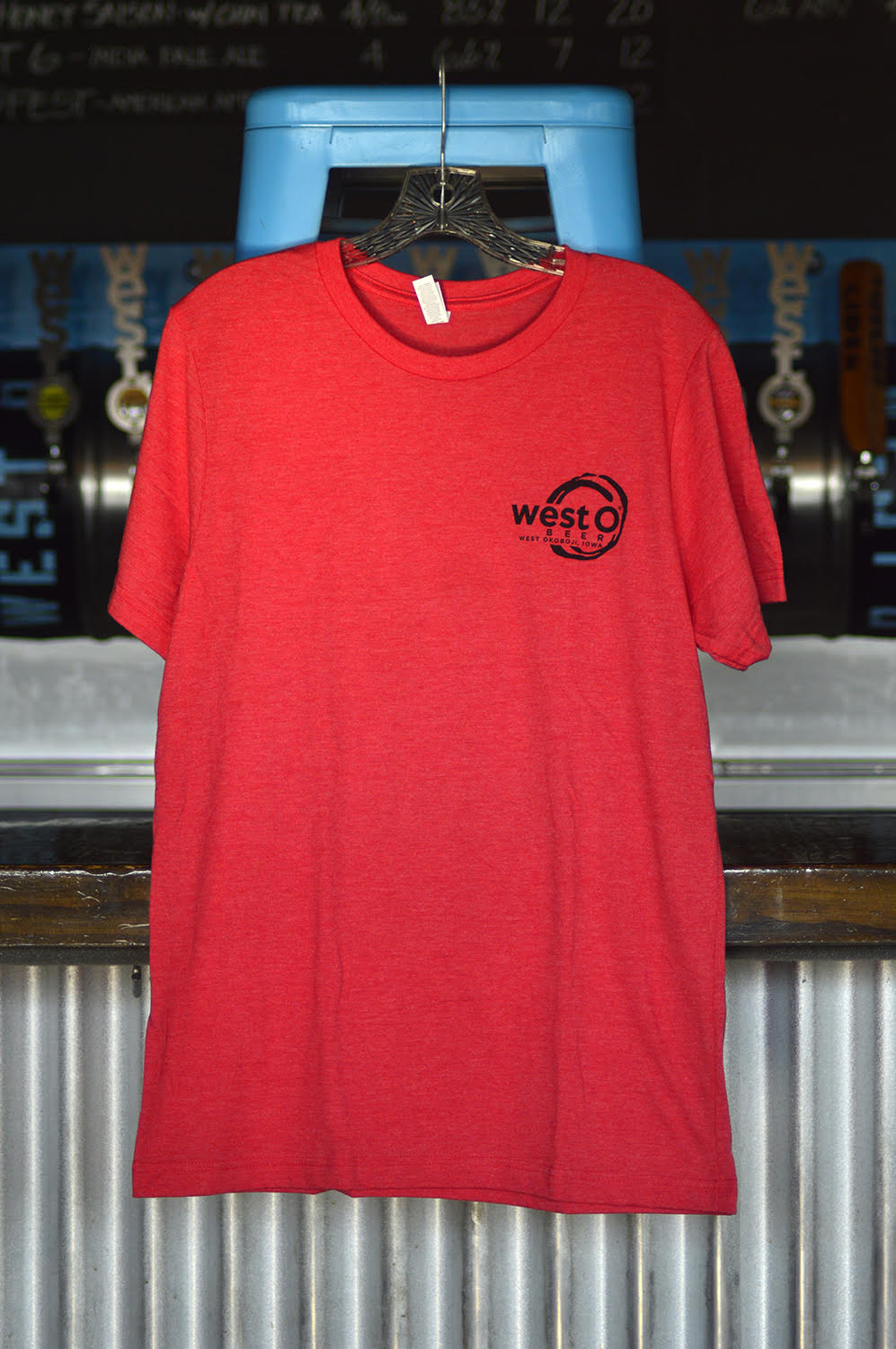Brewed Right Here Red T-Shirt