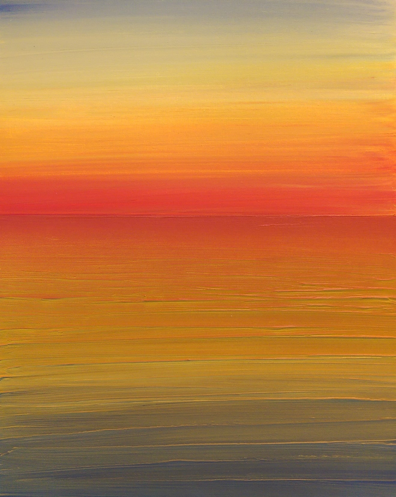 Abstract Seascape on canvas - Shepherds Delight