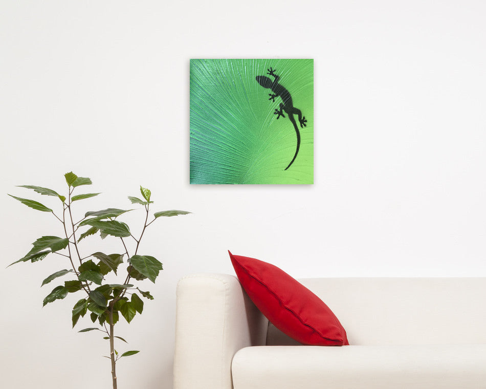 Gecko Painting on Canvas