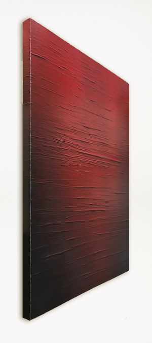 Red horizon - Abstract Art by Carl West