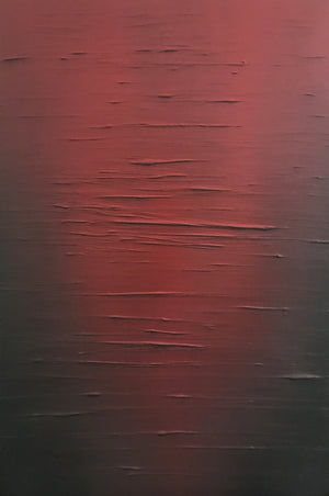 Red Horizon - Red Sea painting by Carl West