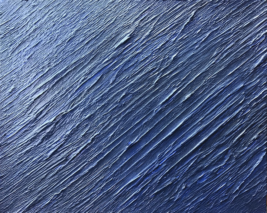 Surface of water painting - by Carl West