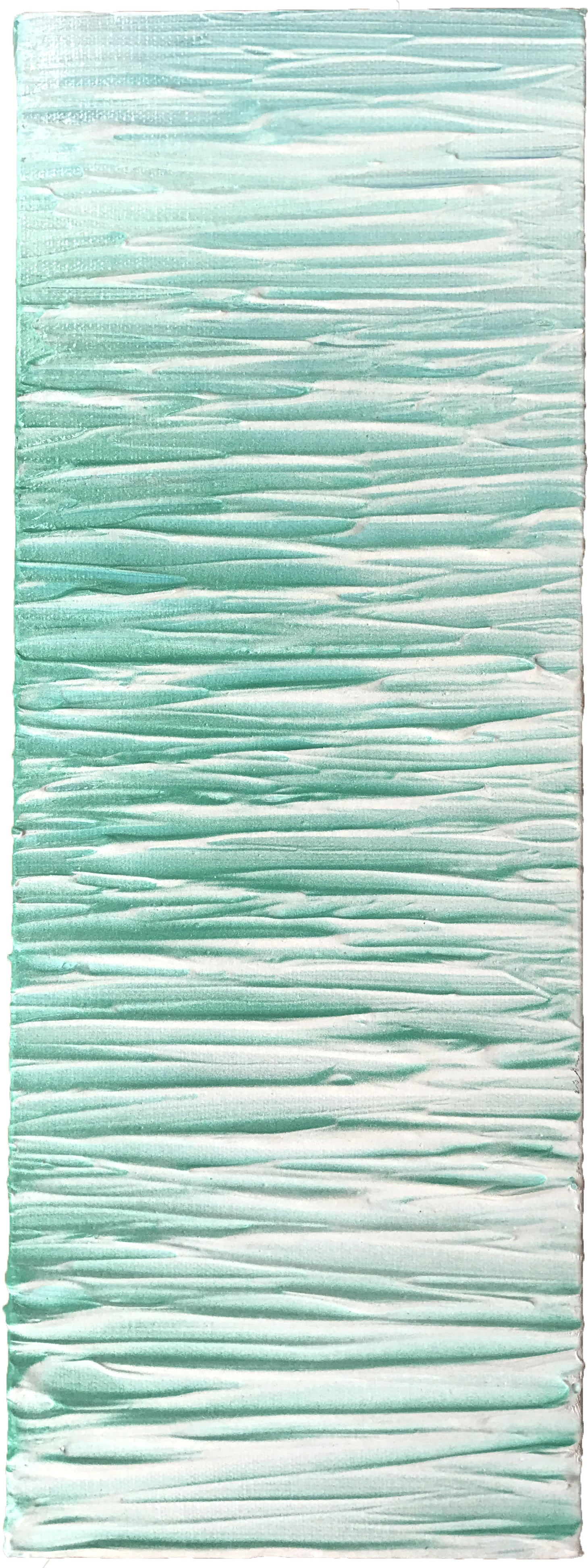 Tropical Ripples - Abstract Sea Painting