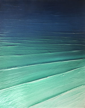 Tropical - Abstract Sea painting by Carl West