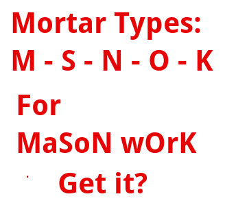 Choosing the proper mortar type for any masonry application, and then where to buy it.