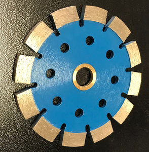 The Blue Blades: Diamond tuck-point grinder blades