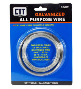 2-pc Galvanized All Purpose Wire