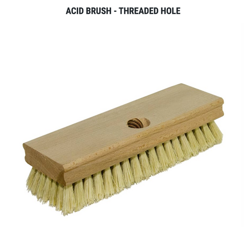 Acid Brush - Threaded Hole