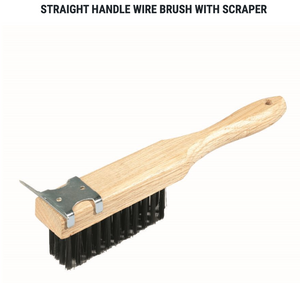 Wire Brush & Scraper