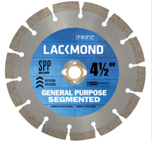Lackmond Segmented Blades - Thin - General Masonry Cutting