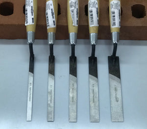 Marshalltown: Premier Line Jointers/Tuckpointers 5 pc set