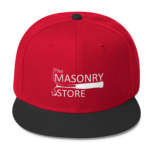 The Masonry Store Wool Blend Snapback
