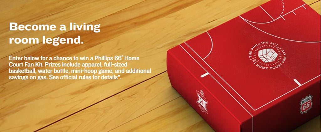 Phillips 66® Home Court Fan Kit Promotion ENDS 2/28/21 *Select States