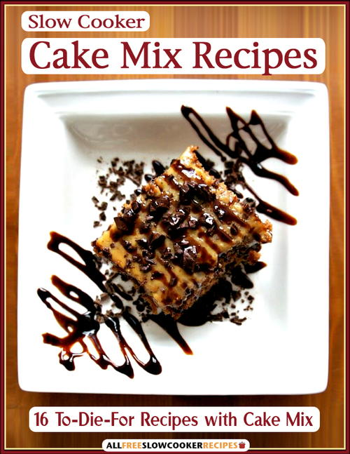 Free Slow Cooker Cake Mix Recipes