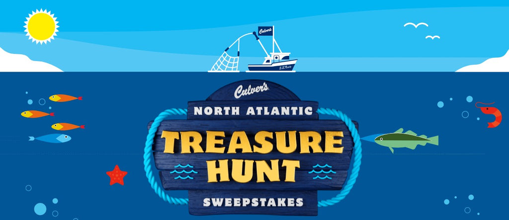 Culver's North Atlantic Treasure Hunt IWG & Sweeps ENDS 3/21/21 *Select States