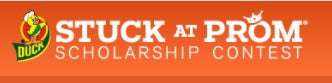 Duck® Brand Duct Tape Stuck at Prom® Scholarship Contest 3/31 - 6/09/21 *Create/wear prom attire