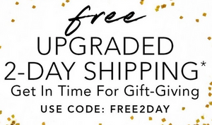 Free Upgraded 2-Day Shipping at Boston Proper
