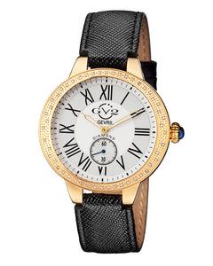 Gv2 40mm Astor Diamond Leather Watch, Black Comparable Value: $2,295.00   Price: $1,725.00 With 75% off : $431.25