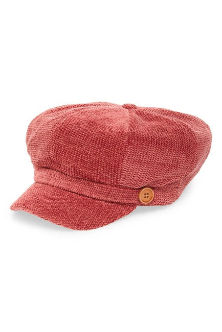 David & Young Chenille Baker Boy Cap $9.97