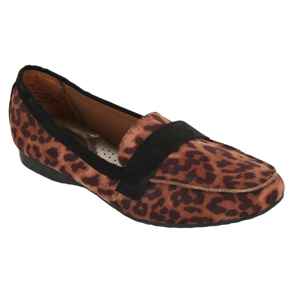 Apri Women's Beauty Leopard Loafers $6.00