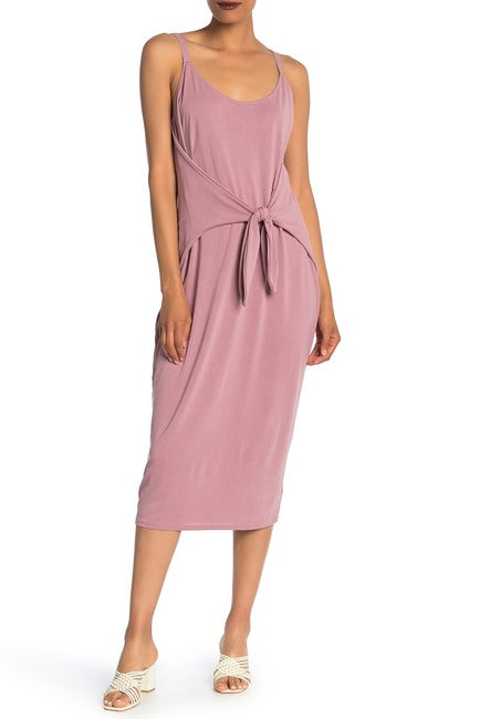 Vanity Room Women's Tie Front Midi Knit Dress $11.09