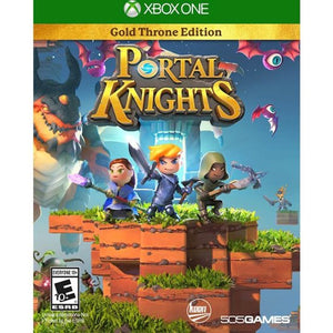 Regularly $29.99, Clearanced for $10.99 Portal Knights Gold Throne Edition XBox One