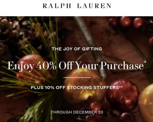 40% Off Plus 10% Off Stocking Stuffers Through December 20th - Get it by Christmas!