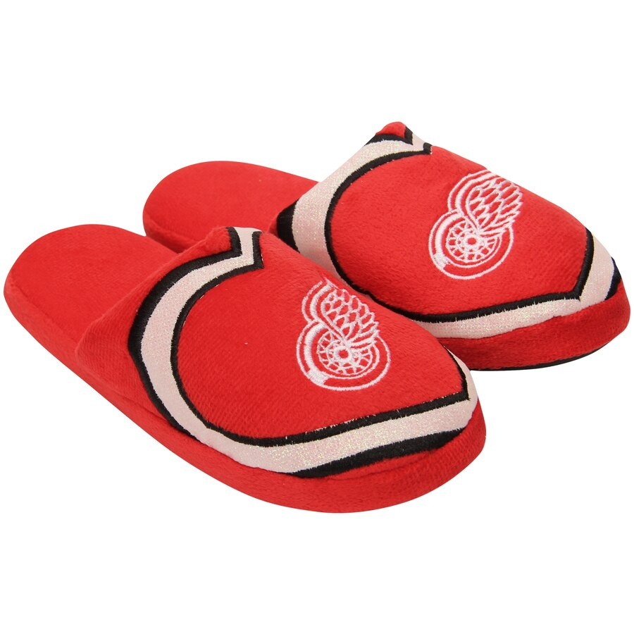 Women's Detroit Red Wings Hockey Slippers Only $6.99!