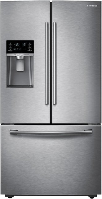 Regularly $2,499.99 on Clearance for $1,249.99 Samsung - 22.5 Cu. Ft. French Door Counter-Depth Refrigerator - Stainless steel