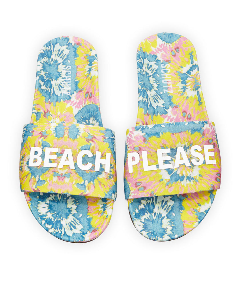 Women's Schutz Beach Please Pool Slide Sandals