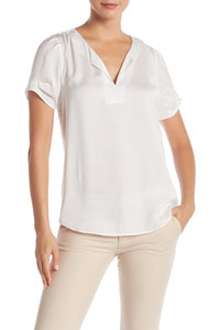 DR2 by Daniel Rainn Short Sleeved Sateen Shirt $7.49