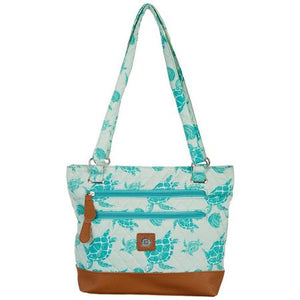 Stone Mountain Quilted Handbag Sea Turtles $10.71